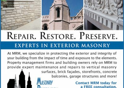 Masonry Restoration Maintenance